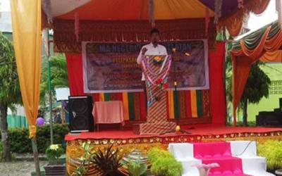 145 Siswa MAN 1 Aceh Selatan Diwisuda